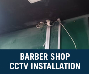 barber shop cctv installation jb