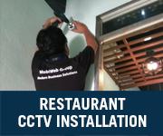 restaurant cctv installation setapak