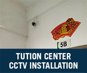 tuition center cctv installation subang