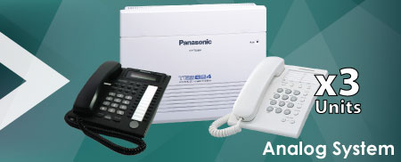 Panasonic-Analog-System-KX-TES824-Bundle-Package