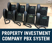 property investment company voip pbx system