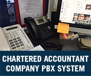 chartered accountants company voip pbx system
