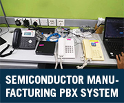 semiconductor manufacturing company voip pbx system