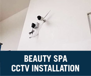 beauty spa cctv installation penang