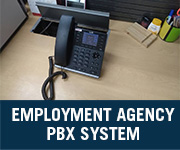 employee agency company voip pbx system